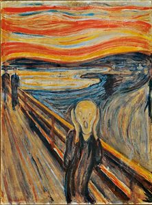 the scream Munch