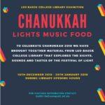 LBC Library Exhibition: Chanukkah – Lights Music Food!
