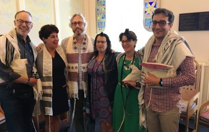 The last shacharit service of the academic year